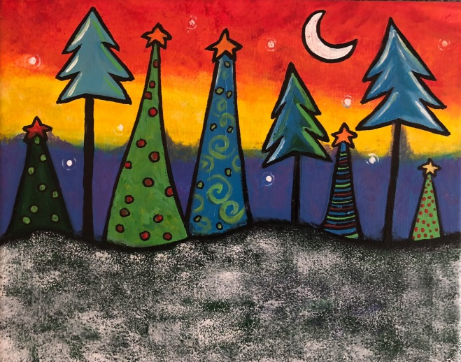 Silent Night Forest