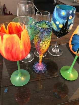 Glass Painting [2 glasses] (2hrs)