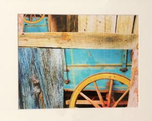 "Carolyn Gibson ""Wheels in the Barn"" photo"