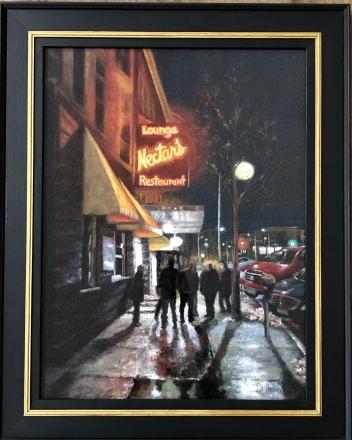 "Donna O'Hara ""Many Shades, Many Memories"" pastel"