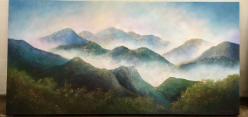 "Debbie Bzdyl ""Morning Mist"" mixed"