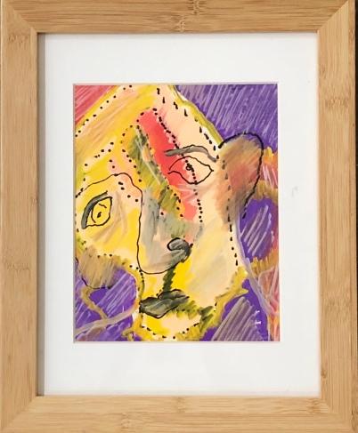 "Joe Farmer ""Modern Man"" acrylic"
