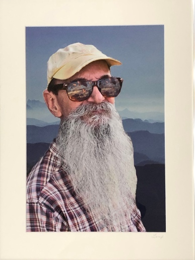 "Julie Lamp ""Vision of a Mountain Man"" photo"
