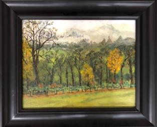 "Michael Brown ""Tree Line"" oil"