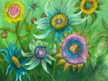*+Crazy Flowers (2hrs)