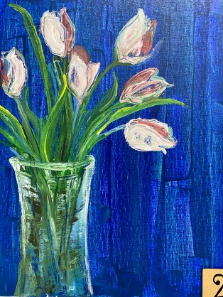 *Pink Tulips (2hrs)