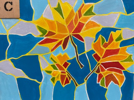 +Mosaic Leaves (2hrs)