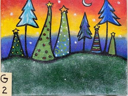 *Christmas Trees (2hrs)