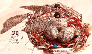 33 *Wire Birds Nest 2+hrs